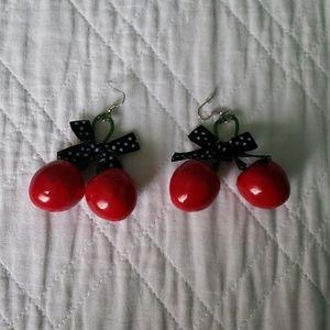 Jewelry - 3D Cherry Earrings